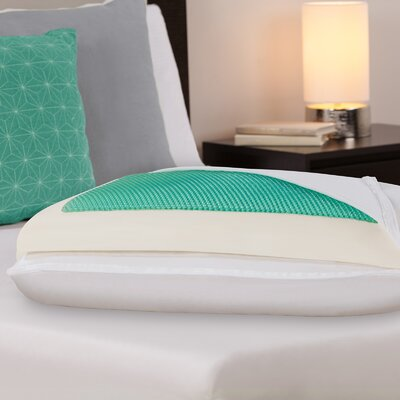 Dreamfinity Comfort Plus Half and Half Cooling Polyfill Standard Pillow