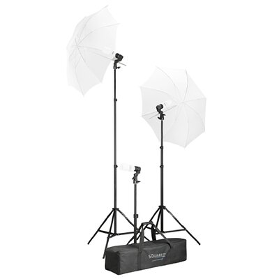 Photo Studio Continuous Lighting Umbrella Photography Stand Light
