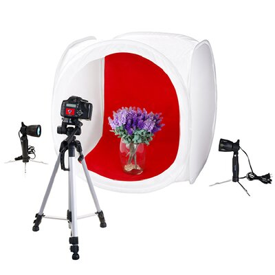 Premium Studio In Box Light Tent Cube