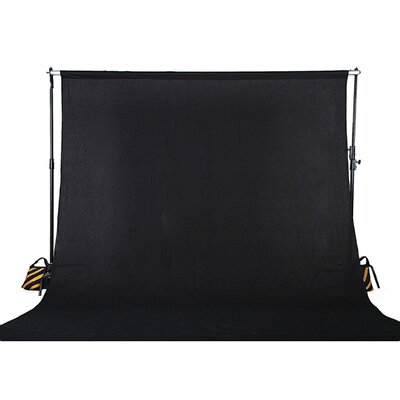 Muslin Photo Backdrop Photography Background Color: Black