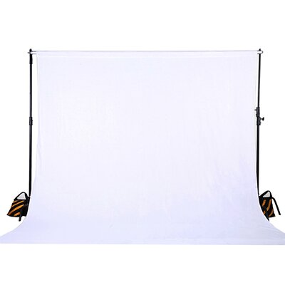 Muslin Photo Backdrop Photography Background Color: White