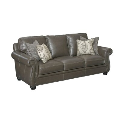 Simon Li H044-30-1D-AA0G Charleston Leather Sofa