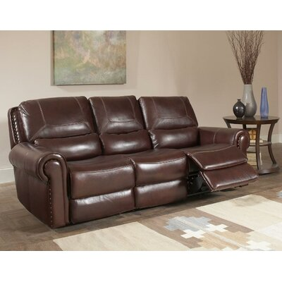 Tusten Leather Reclining Sofa