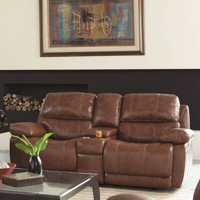 Ulster Power Glider Console Reclining Sofa
