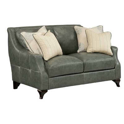 Broadcommon Leather Loveseat