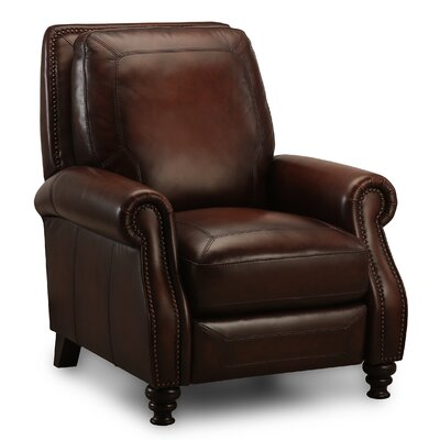 Magaret Leather Push Back Recliner