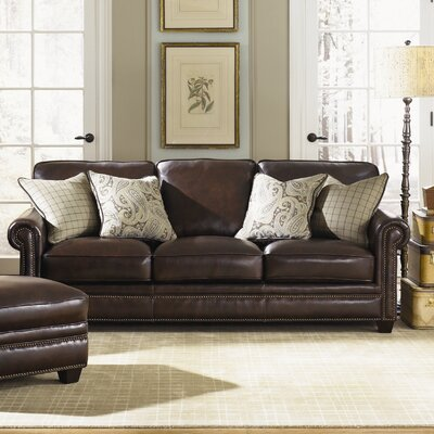 Simon Li H025-30 Burke Leather Sofa