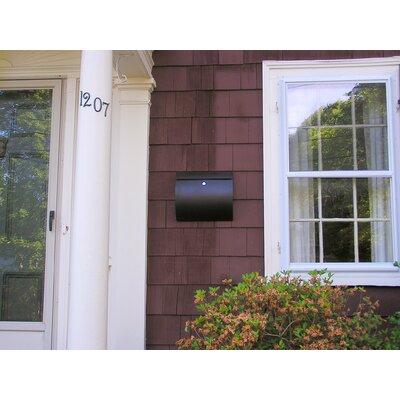 Spira Mailbox Locking Wall Mounted Mailbox