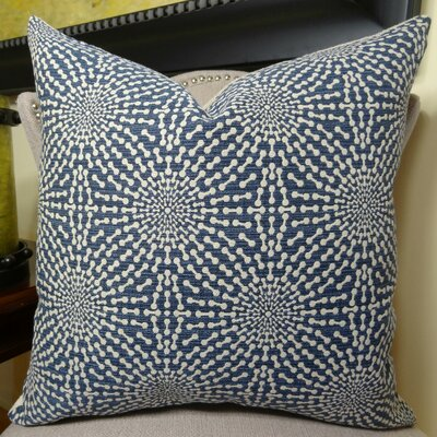 Bluebell Throw Pillow Size: 16 H x 16 W