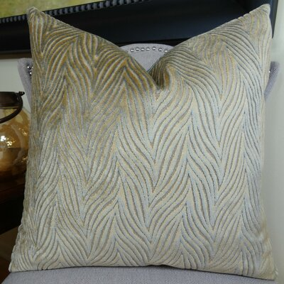 Double Sided Throw Pillow Size: 22 H x 22 W