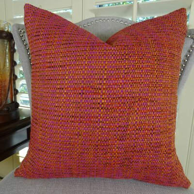 Intermix Double Sided Chenille Throw Pillow Size: 24 H x 24 W