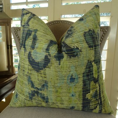 Bear Canyon Handmade Throw Pillow Size: 18 H x 18 W