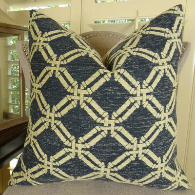 Deseo Double Sided Throw Pillow Size: 24 H x 24 W
