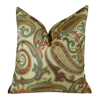 Paisley Cove Throw Pillow Size: 18 H x 18 W