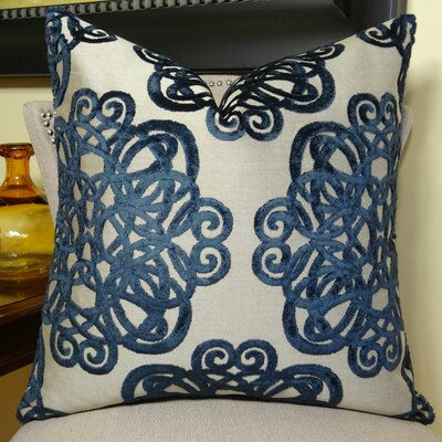 Archetype Sapphire Double Sided Throw Pillow Size: 26 H x 26 W