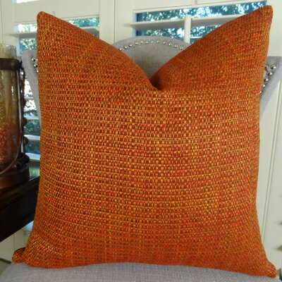 Intermix Double Sided Chenille Throw Pillow Size: 18 H x 18 W