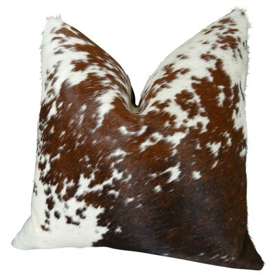Salt Pepper Handmande Throw Pillow Size: 18 H x 18 W