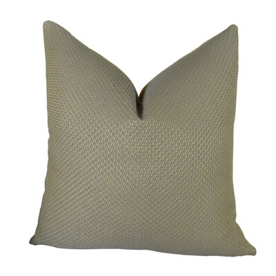 Mancuso Rain Handmade Throw Pillow Size: 26 H x 26 W