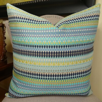 Alpenglow Throw Pillow Size: 24 H x 24 W