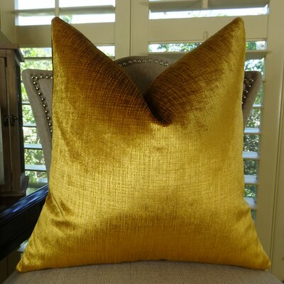 Lumiere Double Sided Throw Pillow Size: 18 H x 18 W