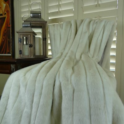 Fancy Mink Faux Acrylic Throw Size: Queen