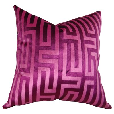 Cesire Maze Double Sided Throw Pillow Size: 24 H x 24 W