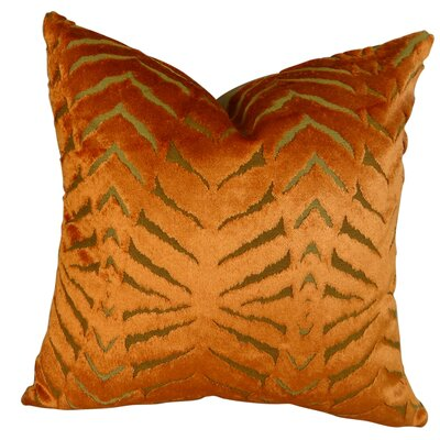 Magnetism Throw Pillow Size: 18 H x 18 W