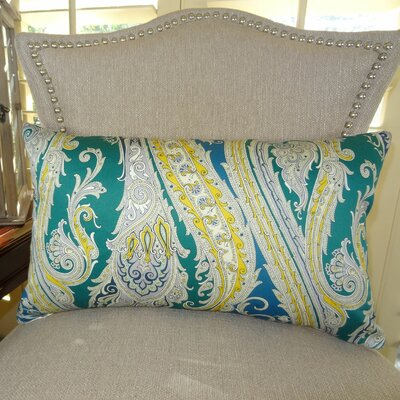 Fun Paisley Lumbar Pillow Size: 12 H x 25 W