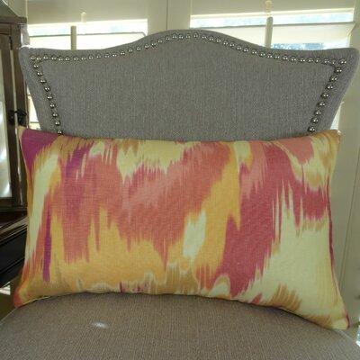 Olavanna Ikat Lumbar Pillow Size: 12 H x 25 W