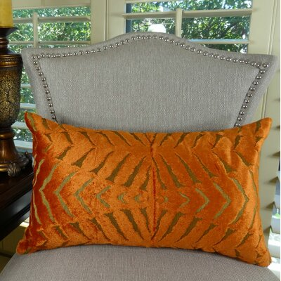 Magnetism Double Sided Throw Pillow Size: 12 H x 20 W