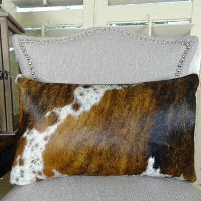 Tri Dark Handmade Lumbar Pillow Size: 12 H x 25 W