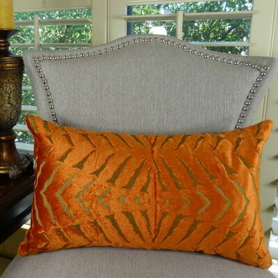 Magnetism Throw Pillow Size: 12 H x 25 W