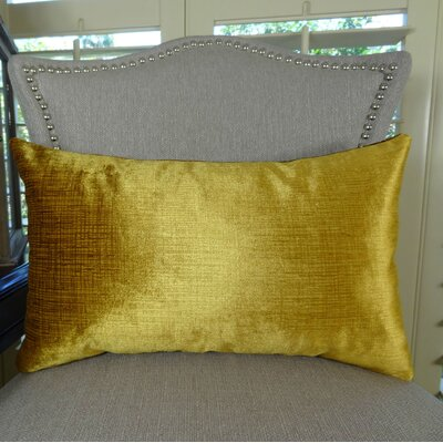 Lumiere Double Sided Throw Pillow Size: 12 H x 20 W