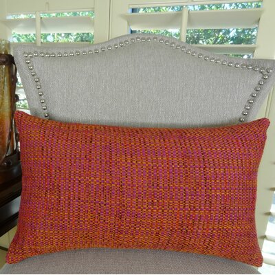 Intermix Double Sided Chenille Throw Pillow Size: 12 H x 25 W