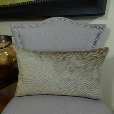 Double Sided Throw Pillow Size: 12 H x 20 W