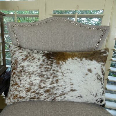 Exotic Salt Pepper Faux Suede Lumbar Pillow Size: 12 H x 25 W