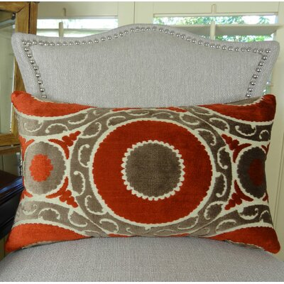 Pomegranate Lumbar Pillow Size: 12 H x 20 W