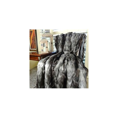 Brandy Fox Faux Acrylic Blanket Size: Full