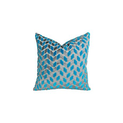 Plutus Deep Sea Dive Handmade Throw Pillow Size: 16 H x 16 W