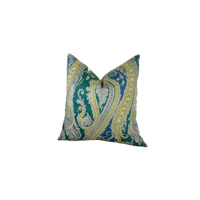 Fun Paisley Double Sided Throw Pillow Size: 18 H x 18 W