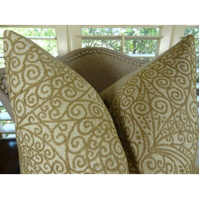 Birch Handmade Throw Pillow  Size: 16 H x 16 W