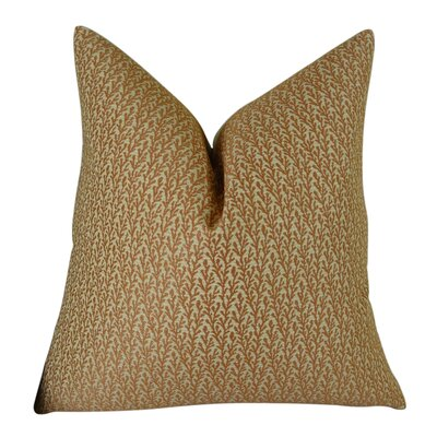 Ivy Handmade Throw Pillow  Size: 22 H x 22 W