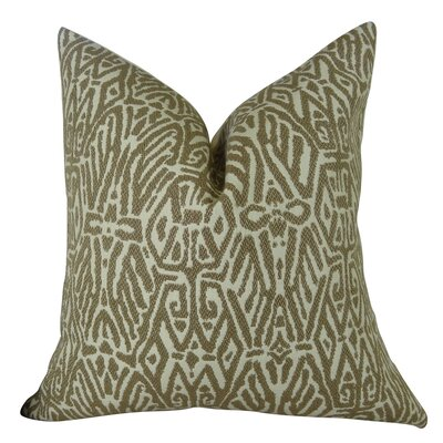 Trendy Look Handmade Throw Pillow Size: 22 H x 22 W