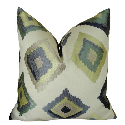 Native Trail Dew Handmade Linen Throw Pillow Size: 24 H x 24 W