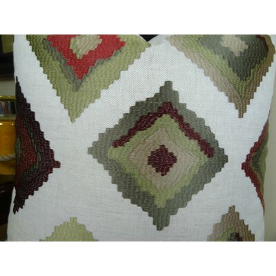 Earth Native-Trail Handmade Linen Throw Pillow Size: 20 H x 30 W