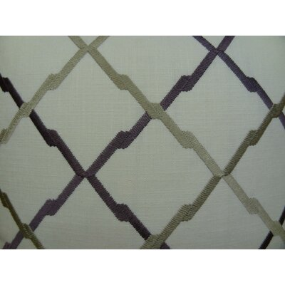 Lyford Purple/Taupe Throw Pillow Size: 20 H x 26 W