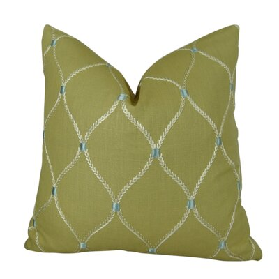 Dewdrop Handmade Throw Pillow  Size: 16 H x 16 W