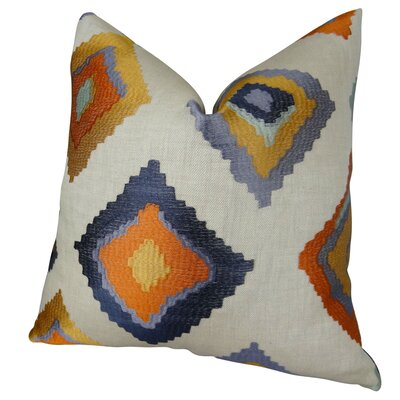 Native Trail Cayenne Handmade Linen Throw Pillow Size: 18 H x 18 W
