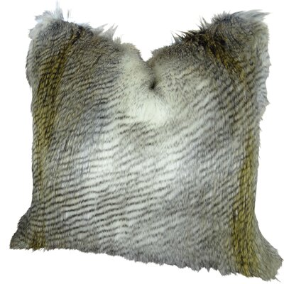 Alaskan Hawk Handmade Throw Pillow  Size: 22 H x 22 W