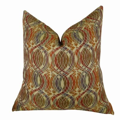 Orbitz Handmade Throw Pillow Size: 16